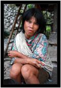 Žena z vesnice Batad