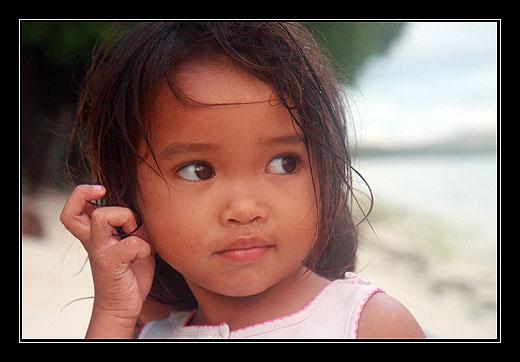 Divka z ostrova Bohol, Filipiny 2010