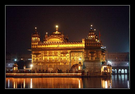 Amritsar, Golden Temple, Zlaty chram