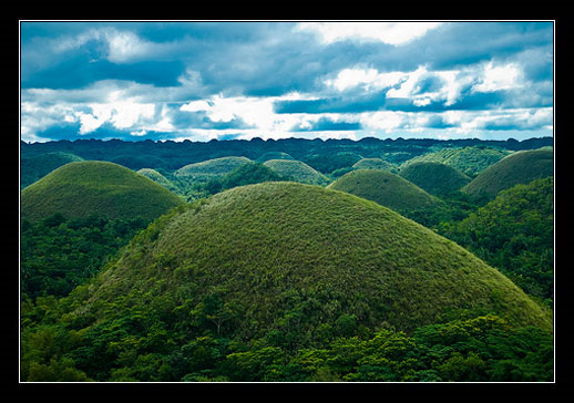 Filipíny - The Chocolate Hills