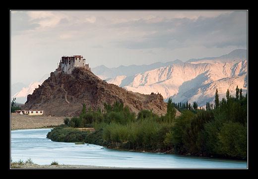 Stakna Gompa, Ladakh, Indie