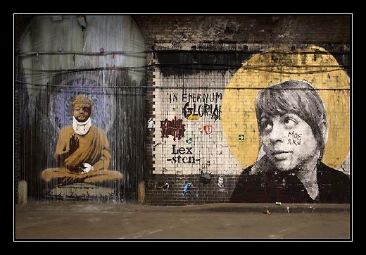 Streetart v Londýně