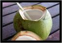 Osvěžující šťáva z kokosu