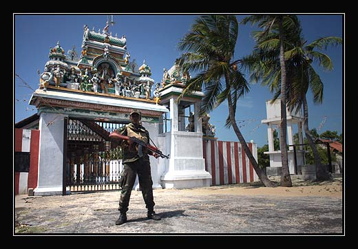Vojak na Sri Lance