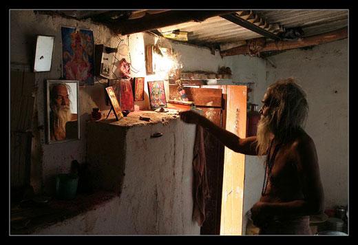 Indický básník, Orcha - Indie, 2005